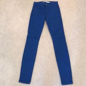 Royal Blue Joe's Skinny Jeans